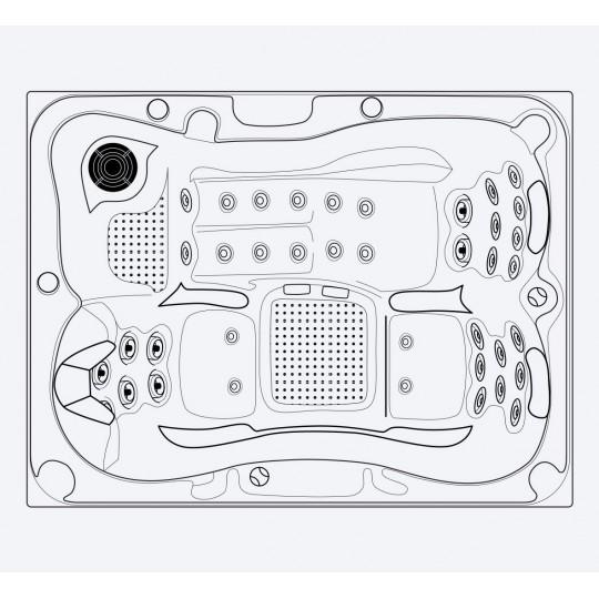 Mozaika szklana Ezarri, seria Niebla, kolor 2597-B