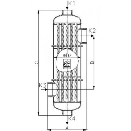 Mozaika szklana Ezarri, seria Iris, kolor OCEAN