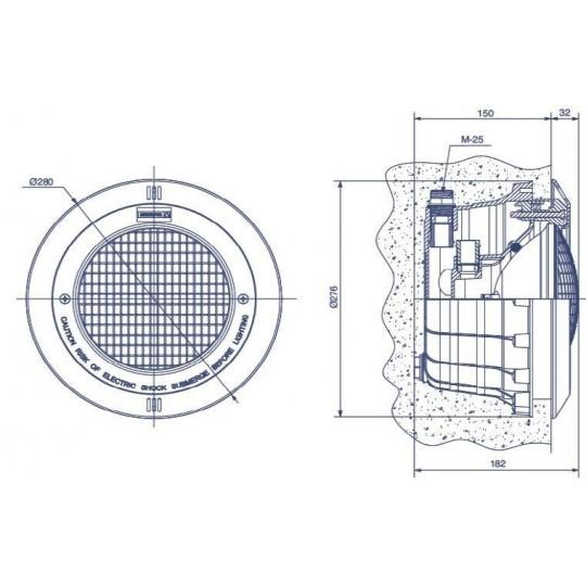 Mozaika szklana Ezarri, seria Vulcano, kolor FUJI