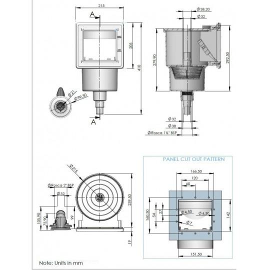 Folia Basenowa Renolit Alkorplan 3000 Mozaika Persja Niebieska