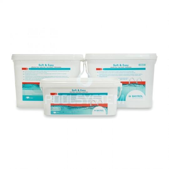 Lampa basenowa Tebas Euro White-Steel Edition LED ramka stal nierdzewna (komplet)