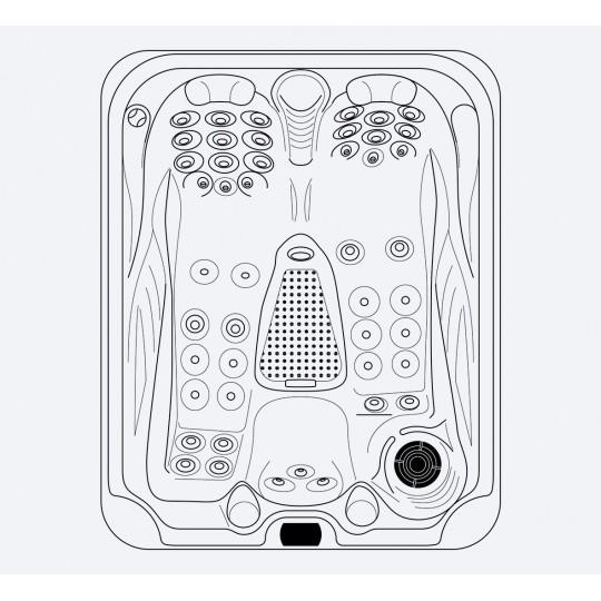 Pompa powietrza SKH 250 1,3 kW 230V