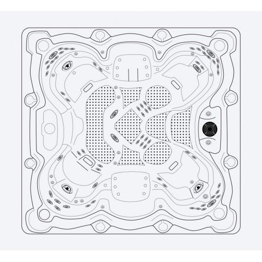 Mozaika szklana Ezarri, seria Lisa, kolor 2549-A