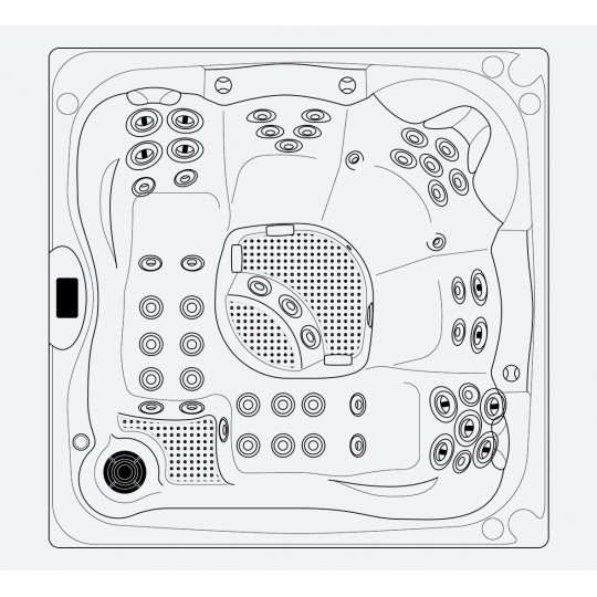 Mozaika szklana Ezarri, seria Lisa, kolor 2531-B