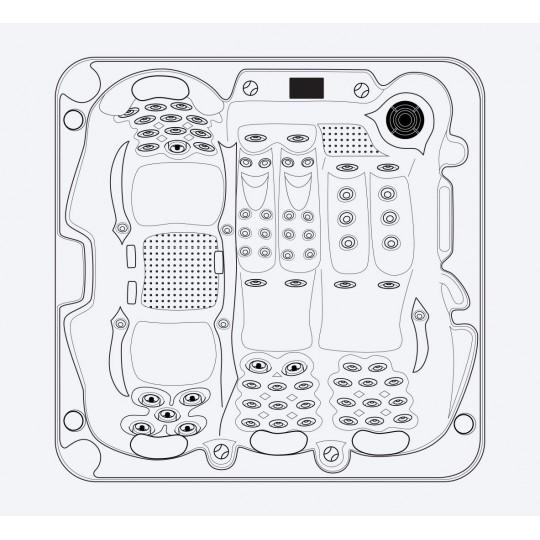 Mozaika szklana Ezarri, seria Lisa, kolor 2537-E